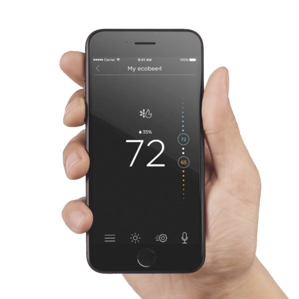 ecobee 4 smart thermostat app