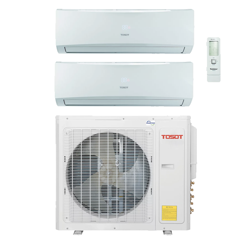 Tosot TM24H40 Heat Pump Ductless Two Head