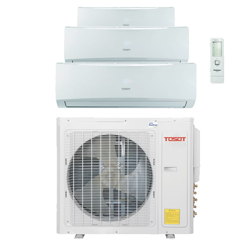 Tosot TM36H40 Heat Pump Ductless Three Head