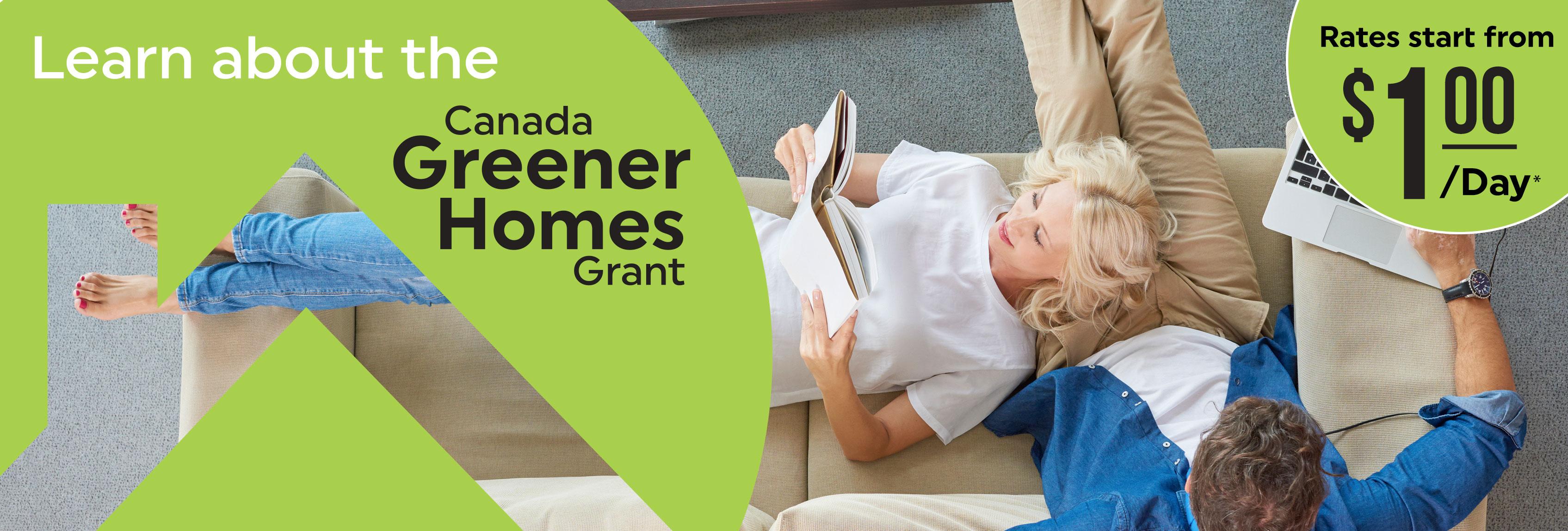 1Click Canada Greener Homes Grant Banner 3