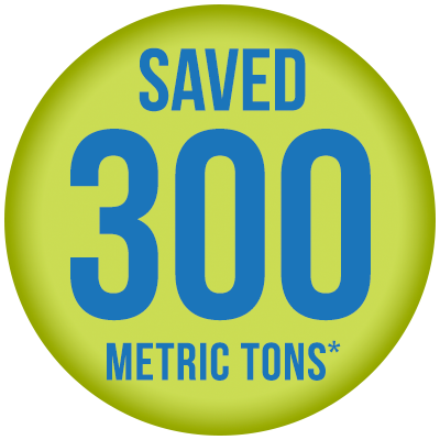 Saved-300-Metric-Tons